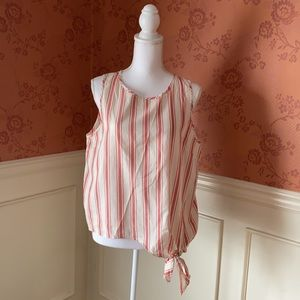 Madewell top with side tie